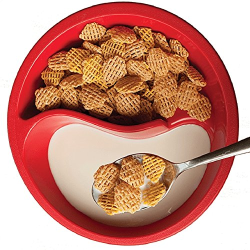 Never eat soggy cereal again with this spiral cereal bowl not a cereal fan you can also try it with soup and crackers or milk and cookies its unbreakable made with thick walls of food safe bpa free ccuart Choice Image