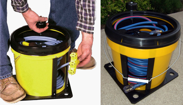 Retractable Extension Cord Reel >> No longer Store Tangled Cords & Cables With This Cord Reel ...