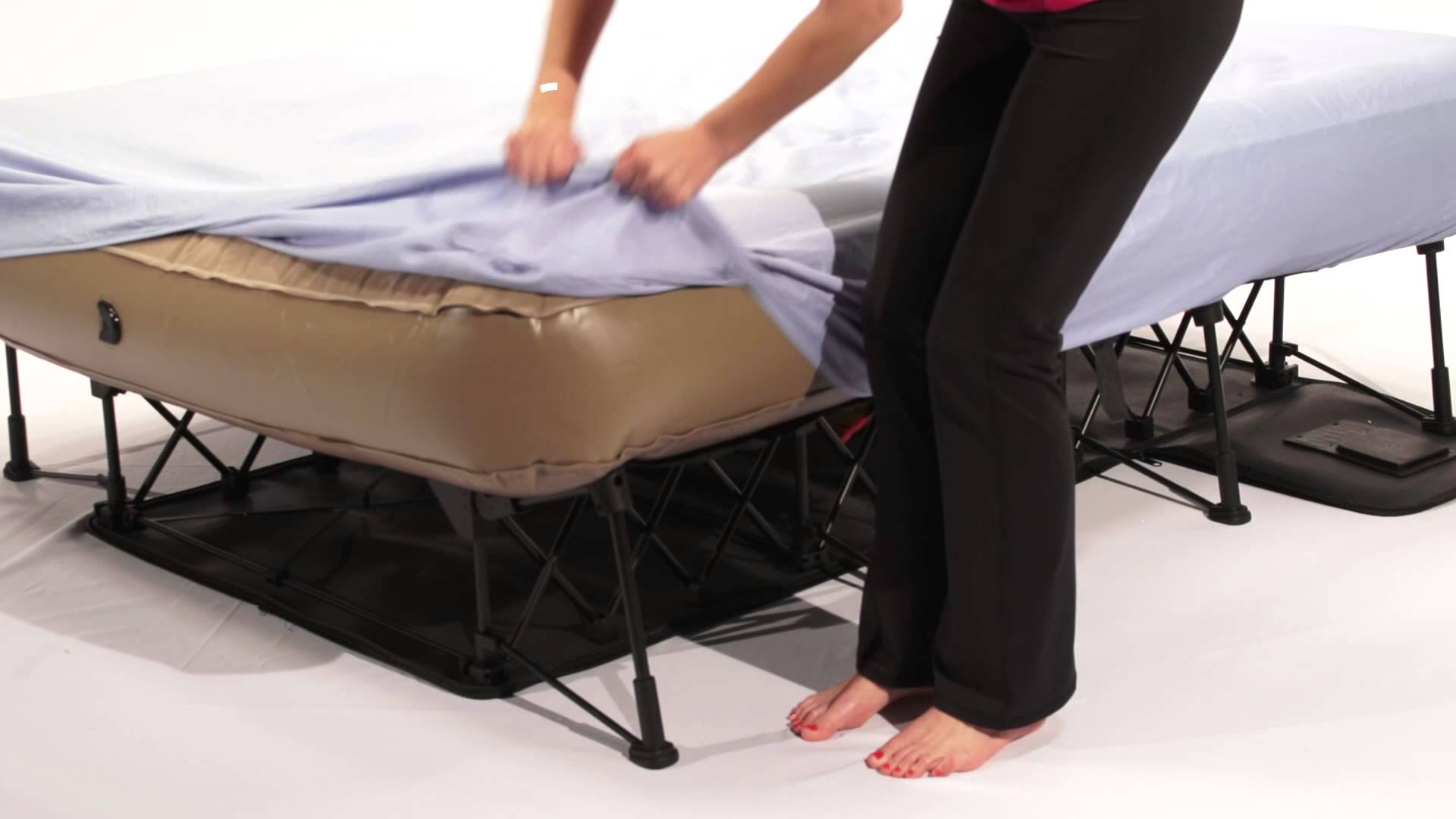two pump airbed